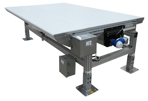 automatic belt tracker conveyor design